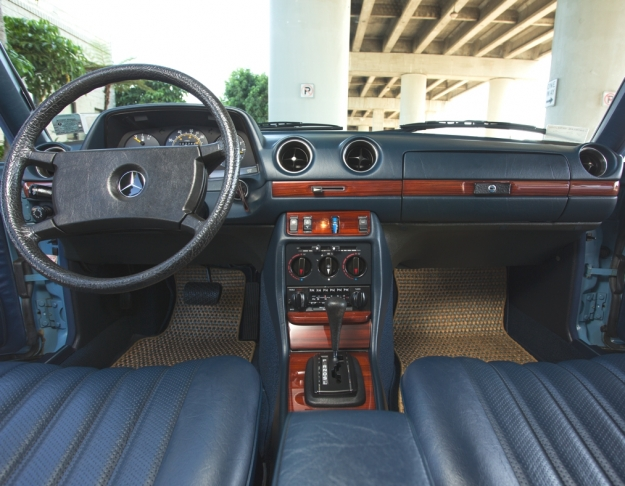 Mercedes Motoring 1982 240d Diesel Sedan