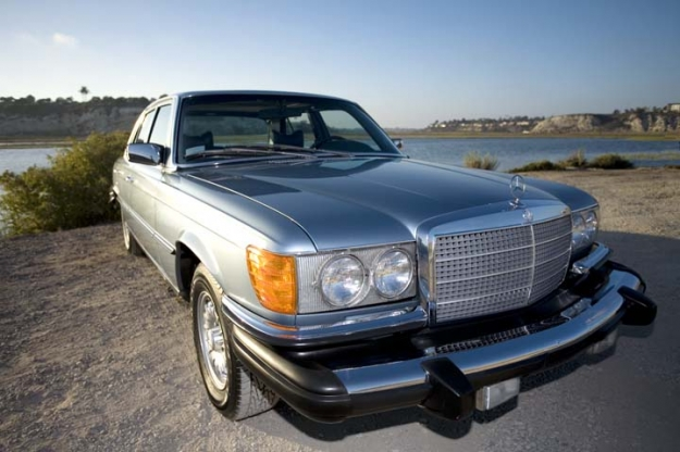 Mercedes Motoring  1979 300SD Turbo Diesel Sedan