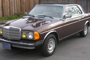1981 300CD Diesel Coupe