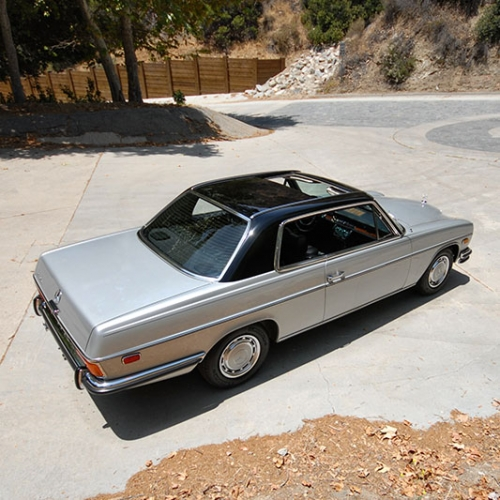Mercedes Motoring 1972 250c Gasoline Coupe