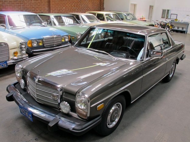 Mercedes motoring 1974 280c gasoline coupe for Mercedes benz c123 for sale