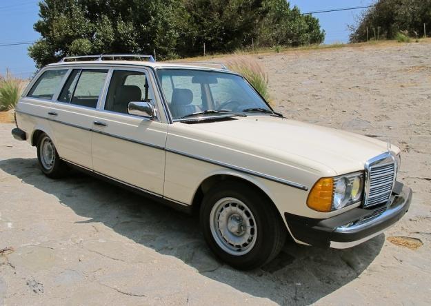 Mercedes Motoring 1984 300td Turbo Diesel Station Wagon