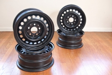 "14"" Powdercoated Steel Wheels"