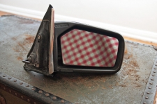 W123 Passenger Side Mirror