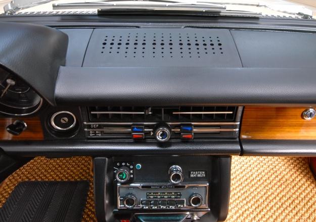 Mercedes Motoring Prototype W114 W115 Speaker Grill